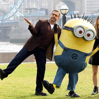 Steve Carell says the Minions are the stars of Despicable Me 2