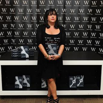 EL James wrote the Fifty Shades books