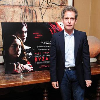 Tom Hollander was impressed by Ralph Fiennes on The Invisible Woman set