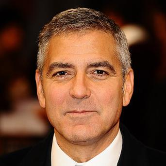 George Clooney stars in the film Gravity