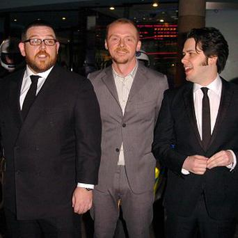 Nick Frost, Simon Pegg and Edgar Wright previously worked together on Hot Fuzz