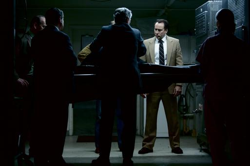 Psycho: Nicolas Cage is trying to catch a serial killer