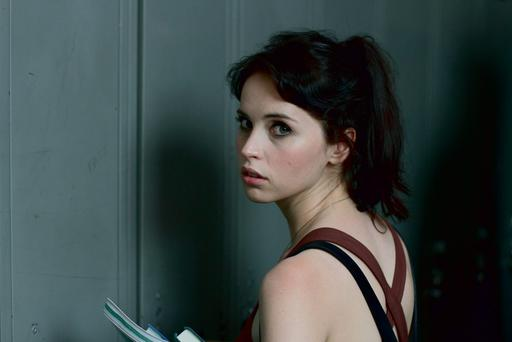Sultry: Felicity Jones is a troubled young music exchange student