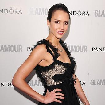 Jessica Alba has joined the cast of Stretch
