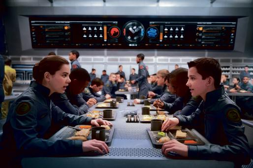Orson Scott Card's novel 'Ender's Game' has been adapted into a movie starring hailee Steinfeld and Asa Butterfield