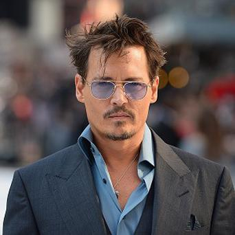 Johnny Depp has been talking about quitting the movie business