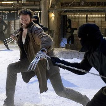 The Wolverine has topped the US box office