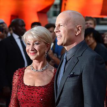 Bruce Willis and Dame Helen Mirren star in Reds 2