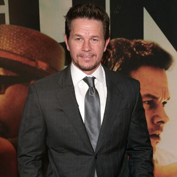 Mark Wahlberg at the premiere of Two Guns in New York