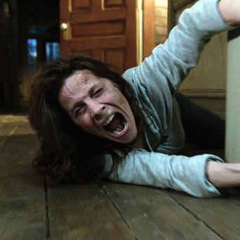 Lili Taylor as Carolyn Perron in a scene from The Conjuring