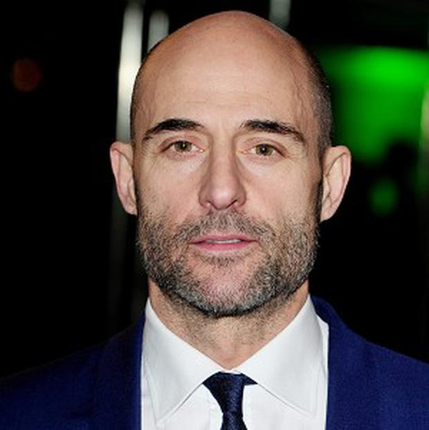 Mark Strong didn't deny that he was in the running for the Lex Luther role