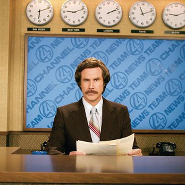 Anchorman's Ron Burgundy will have his own 'tell-all' book