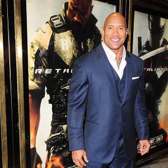 Dwayne 'The Rock' Johnson is lining up to be The Fall Guy