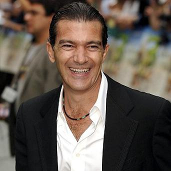 Antonio Banderas voices the role of Sir Clorex in the film