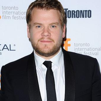 James Corden didn't sing in the Paul Potts movie