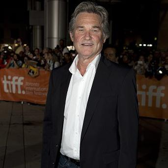 Kurt Russell worked with Terence Stamp on new heist movie The Art of Steal
