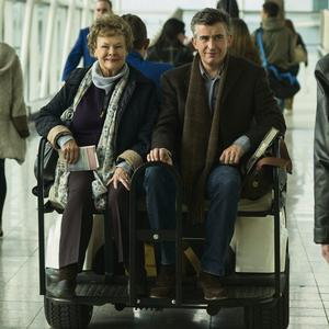 Judi Dench and Steve Coogan in another scene from the film