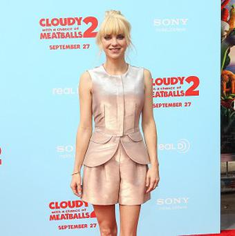 Anna Faris provides her voice for Cloudy With A Chance Of Meatballs 2