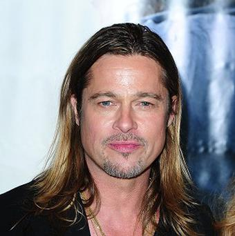 Brad Pitt has been bonding with co-star Shia LaBeouf