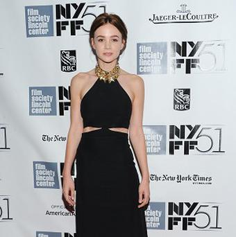 Carey Mulligan at the premiere of Inside Llewyn Davis in New York