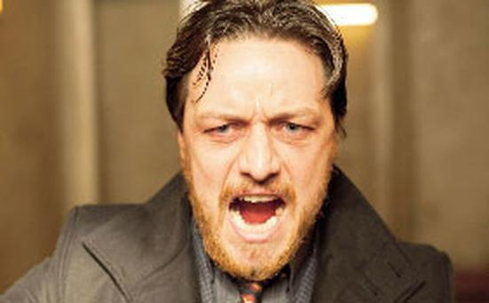 James McAvoy: left high and dry in Filth