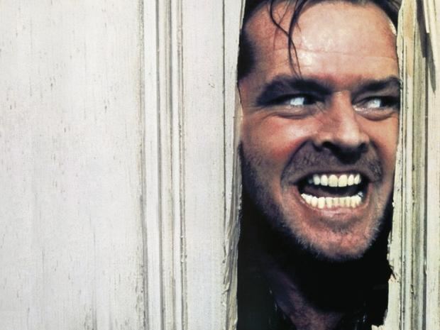 Chilling: Jack Nicholson in classic horror film, 'The Shining'