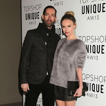 Kate Bosworth and Michael Polish met on the set of Big Sur