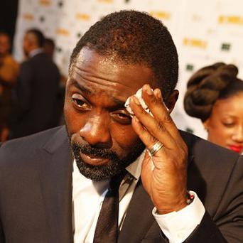 Idris Elba was at the Mandela premiere shortly after suffering an asthma attack
