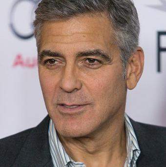 George Clooney has hit out at Russell Crowe