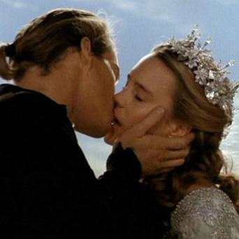 Cary Elwes and Robin Wright starred as Westley and Princess Buttercup in The Princess Bride