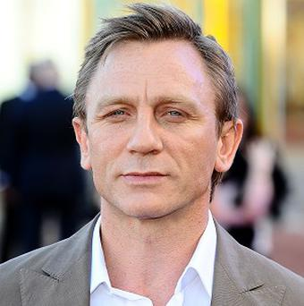 Daniel Craig starred as James Bond in box office smash Skyfall