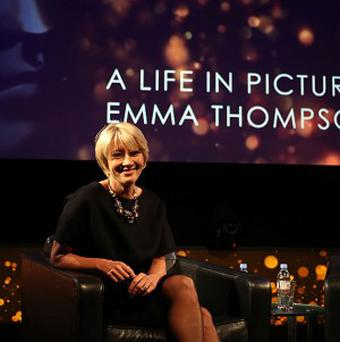 Emma Thompson said she found her Saving Mr Banks character irritating
