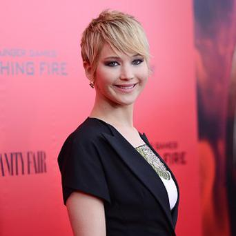 Jennifer Lawrence stars in The Hunger Games: Catching Fire