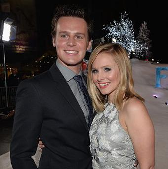 Jonathan Groff and Kristen Bell voice the lead characters in Frozen