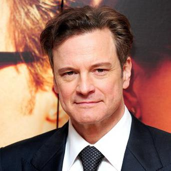 Colin Firth attending the UK film premiere of The Railway Man