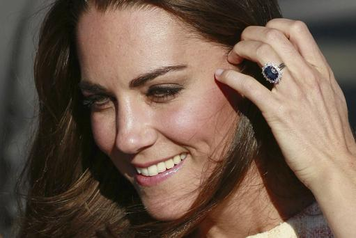 Neigh: Kate Middleton drew lukewarm reviews for her ponytail
