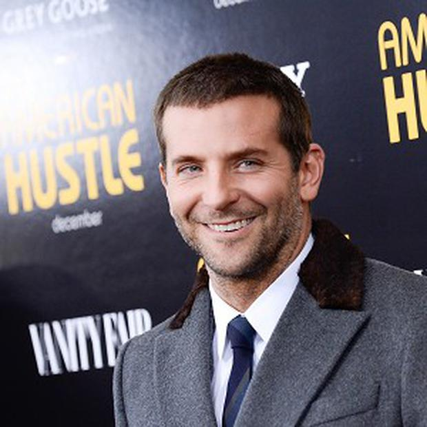 Bradley Cooper cultivated his curls for American Hustle