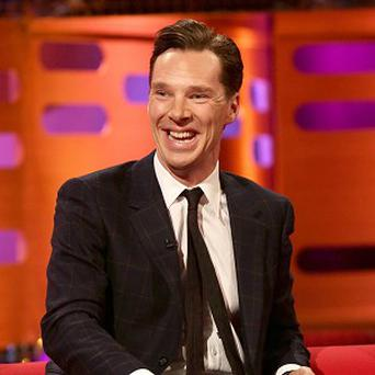 Benedict Cumberbatch voices Smaug and the Necromancer in The Hobbit: The Desolation Of Smaug