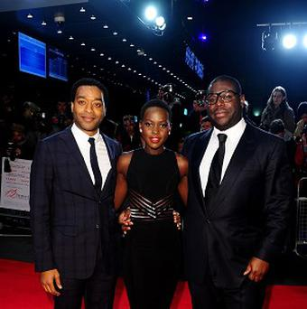 There were SAG nominations for Steve McQueen's cast in 12 Years A Slave, including Chiwetel Ejiofor and Lupita Nyong'o