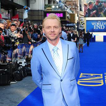 Simon Pegg is going to make a film with the stars of Monty Python