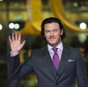 Luke Evans plays Bard the Bowman in The Hobbit: The Desolation Of Smaug