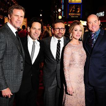Will Ferrell, Paul Rudd, Steve Carell, Christina Applegate and David Koechner have reprised their roles in Anchorman 2: The Legend Continues