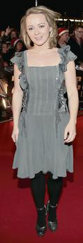 Lying at anchor: Roisin Tierney Crowe at 'Anchorman 2'
