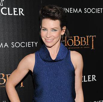 Evangeline Lilly plays elf Tauriel in The Hobbit: The Desolation Of Smaug