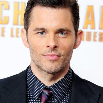 James Marsden plays rival newsreader Jack Lime in Anchorman 2: The Legend Continues