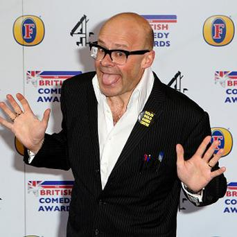 Harry Hill said despite his upcoming film he is planning a simple family Christmas