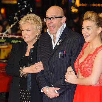 Julie Walters, Harry Hill and Sheridan Smith at the world premiere of The Harry Hill Movie