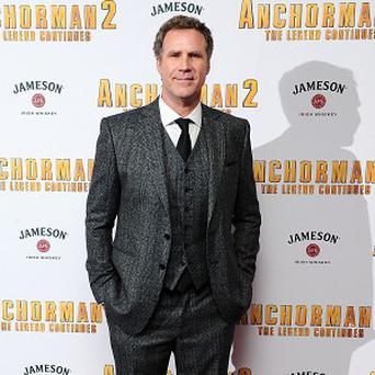 Will Ferrell found working with Harrison Ford thrilling