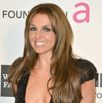 Britney Spears has said she'd love to get back into acting