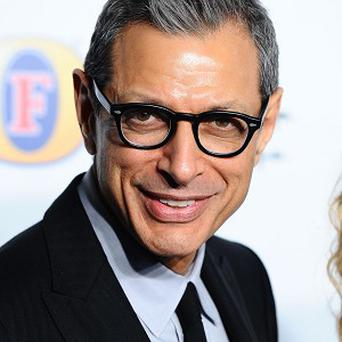 Jeff Goldblum has a role in Mortdecai
